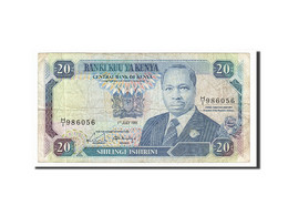 [#157207] Kenya, 20 Shillings Type Arap Moi - Kenya
