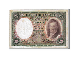 [#109487] Espagne, 25 Pesetas Type 1931 - [ 2] 1931-1936 : Republiek