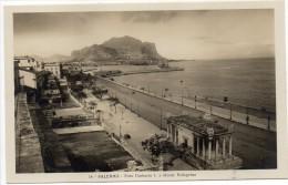 Sicilia-palermo-palermo Foro Umberto  I  E Monte Pellegrino(picc.-b.n.-n.v.) - Palermo
