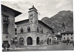 Friuli Venezia Giulia-udine-venzone Il Municipio (gr.-b.n.-n.v.) - Italia