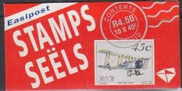 South Africa 1993 Aviation Booklet  / Pane 7 ** Mnh (21502) - Boekjes