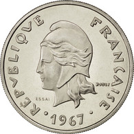 Nouvelles Hébrides, 20 Francs 1967 Essai, KM E3 - Vanuatu