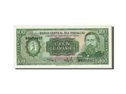 Paraguay, 100 Guaranies Type Général José E. Diaz - Paraguay