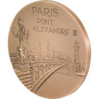 Médaille, Monnaie De Paris, Pont Alexandre III - Jetons & Médailles