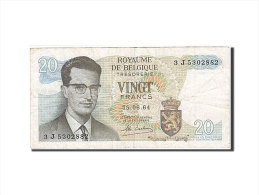 [#257764] Belgique, 20 Francs, Type Roi Baudouin I - [ 2] 1831-... : Royaume De Belgique