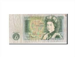[#350545] Grande Bretagne, 1 Pound Type 1971-82 ND, Pick 377b - 1 Pound