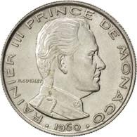 Monaco, Rainier III, 1 Franc 1960, KM 140 - Monaco