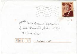 MAROCCO - MAROC - 1998 - 5,50 - Viaggiata Da Marrakech Per Thionville, France - Marocco (1956-...)