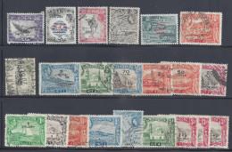 ADEN - 1953-58 -  PETIT LOT DE 22 TIMBRES OBLITERES - (2 NEUFS) - - Sellos