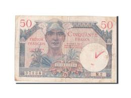 50 Francs Type Trésor Français - Treasury