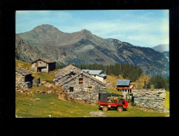 CHAMPORCHER Val D'Aosta Vallée D'Aoste : Conca Del Laris  4x4 Truck Mercedes Unimog Or Volvo Laplander C202 ?? - Italia