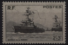 N° 752 - X X - ( F 236 ) - ( Oeuvres De La Marine ) - Frankreich
