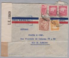 Kolumbien 19??-07-14 Bogota Zensur Flugpost-Brief Nach Rio - Colombie