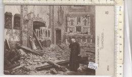 PO1522D# BELGIO - TERMONDE - DENDERMONDE - DISTRUZIONE DELLA GUERRA - ILLUSTRATORI G.MORINET  No VG - Dendermonde