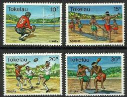Tokelau - 1979 Local sports set of 4 MNH **  SG 69-72  Sc 69-72