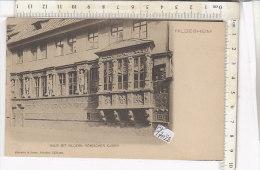 PO1702D# GERMANIA - GERMANY - HILDESHEIM - HAUS MIT BILDERN ROMISCHER KAISER  No VG - Hildesheim