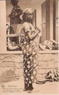BAS CONGO FEMME DU HAUT CONGO AU MARCHE DE KITOBOLA (BANGU) - Belgian Congo - Other