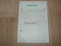 Mittenwald Rechnung 1936 Germany - Germania