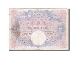 [#256978] 50 Francs, Type Bleu Et Rose, 5 Décembre 1911, Fayette 14.24 - 1871-1952 Anciens Francs Circulés Au XXème