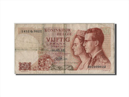 [#305273] Belgique, 50 Francs Type Baudouin Et Fabiola - [ 6] Treasury
