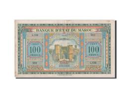 Maroc, Banque D'Etat, 100 Francs 1943, Pick 27a - Morocco