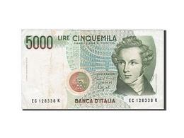Italie, 5000 Lire, Type V. Bellini - 5000 Lire