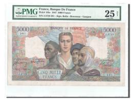 France, 5000 Francs,17.7.1947, KM:103e, PMG VF25 - 1871-1952 Anciens Francs Circulés Au XXème