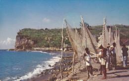 Fishing Village , Fond-Lahaye, Martinique , 50-60s - Antillen