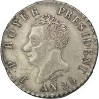 [#44156] Haïti, République, 50 Centimes An 25 (1828), KM 20 - Haïti