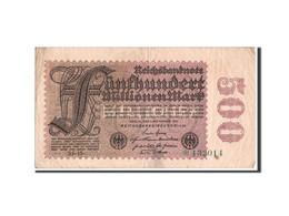 [#350710] Allemagne, 500 Millions Mark Type 1923 Sixth, Pick 110d - [ 3] 1918-1933 : Weimar Republic