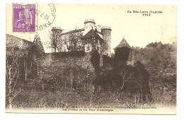 Chateau De LA TOURETTE-Route De La Chaise Dieu à Paulhaguet - France