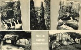 LA PETITE SUISSE LUXEMBOURGEOISE - GRAND DUCHE DE LUXEMBOURG - BELLE CPA MULTIVUES. - Postcards
