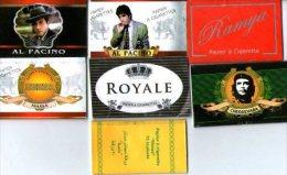 7 Papiers à Cigarettes Neufs. - Non Classés