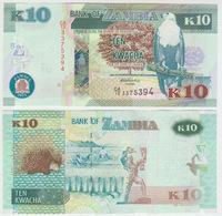 Zambia 10 Kwacha 2012 Pick NEW UNC - Zambie