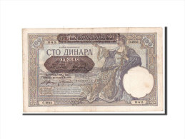 [#350283] Serbie, 100 Dinara Type 1941 Provisional, Pick 23 - Serbie