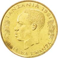 Tanzanie, 20 Senti 1981, KM 2 - Tanzanie