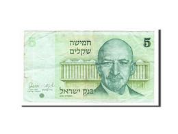 Israël, 5 Sheqalim Type Weizmann - Israel