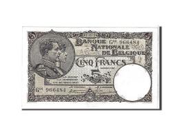 [#111100] Belgique, 5 Francs Type 1922-26 - [ 2] 1831-... : Belgian Kingdom