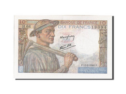 [#204641] 10 Francs Type Mineur, 13 Janvier 1944, Fayette 8.10 - 1871-1952 Circulated During XXth