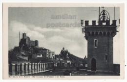 Reppublica Di San Marino, Vista Dal Terrazzo Del Palazzo E Tre Torri C1910s View From Palace Postcard [8411] - San Marino