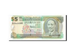 [#155439] Barbades, 5 Dollars Type Worrell - Barbados