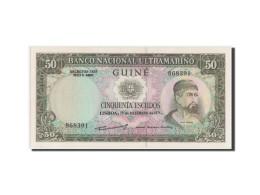 Guinée, Banco Nacional Ultramarino, 50 Escudos 1971, Pick 44a - Guinea