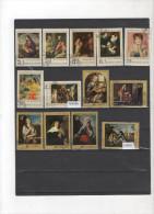 RUSSIE Lot De  13   Séries Complétes Tableaux Cote Plus De 22 Euros - Collections