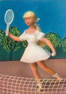 CPM Les Poupées De Peynet (joueuse De Tennis) - Peynet