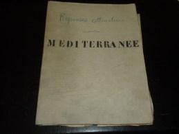 108 DOCUMENTS FEUILLE COPIE DE LETTRE TAPUSCRITE, MANUSCRITE MESSAGERIES MARITIMES ETAT DU MOSSOUL APRES SON TORPILLAGE - Boats