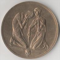 Bronze Medaille Münze Medal Coin Piece Sachsen Denkmal 1923 Inflation Hunger Thaler Taler Hörnlein Weimarer Republik - [ 3] 1918-1933: Weimarer Republik