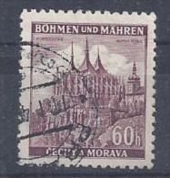 Germany (Bohmen Und Mahren) 1939/42  Freimarken; Kuttenberg / Kutna Hora (o) Mi.27 - Occupation 1938-45