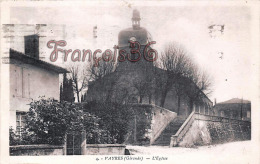 (33) Vayres - L'Eglise - 2 SCANS - Frankrijk