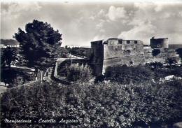 Manfredonia - Castello Angioino - 041981 - Formato Grande Viaggiata - Manfredonia