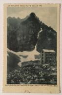 Un Saluto Dall'Alta Valle Po Rifugio Quintino Sella E Monviso Del 1934 Viaggiata In Ottime Condizioni - Cuneo